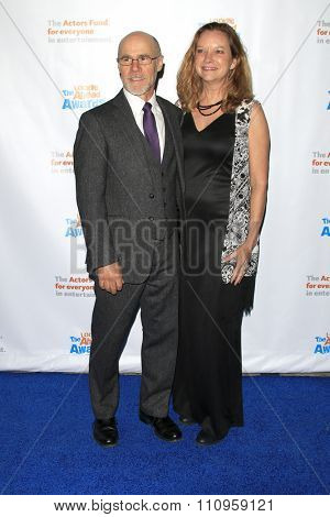 LOS ANGELES - DEC 3:  Barry Livingston, Karen Huntsman at the The Actors Fund�¢??s Looking Ahead Awards at the Taglyan Complex on December 3, 2015 in Los Angeles, CA