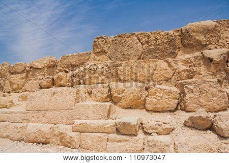 Ancient Ruins Of Giza.