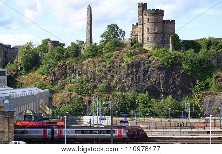 Waverley Railway Station, Edinburgh, Scotland