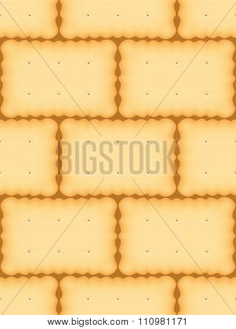 Biscuit Seamless Vector Patter