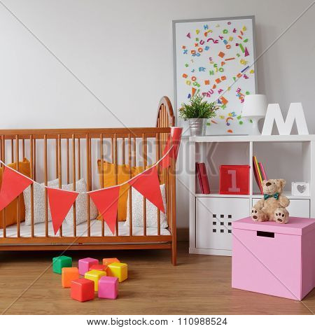 Stylish Room For Babygirl