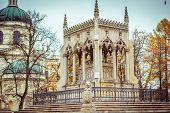 Potocki mausoleum in the park - Wilanow palace area, Warsaw, Poland poster