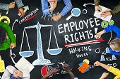 Employee Rights Employment Equality Job Education Learning Concept poster