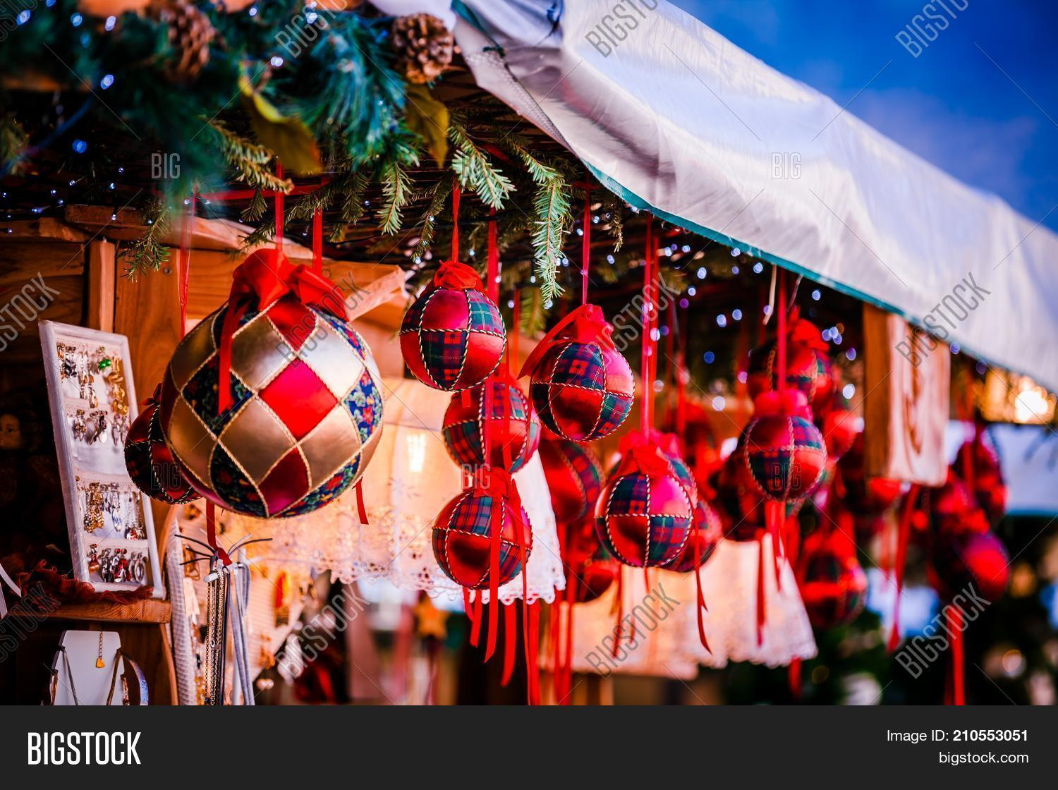 Christmas In Italy Decorations.Christmas Decorations Image Photo Free Trial Bigstock