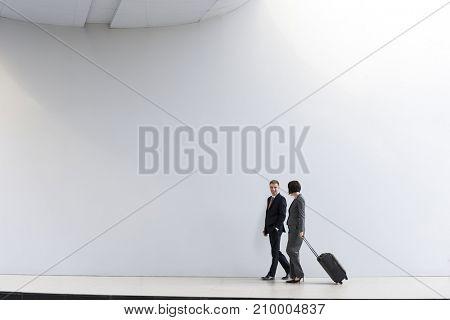 Business People Coworkers Traveler Trip