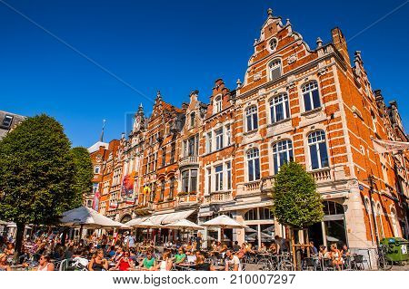 Architecture Of Leuven, Belgium