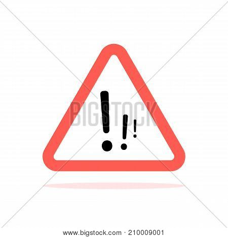Attention Sign With Multiple Exclamation Marks