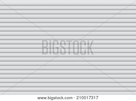 Gray shutter pattern background texture vector illustration.