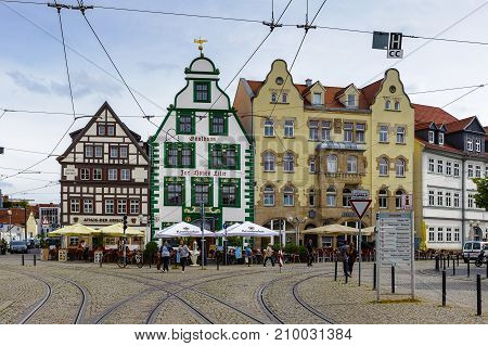 Architecture Of Erfurt, Germany
