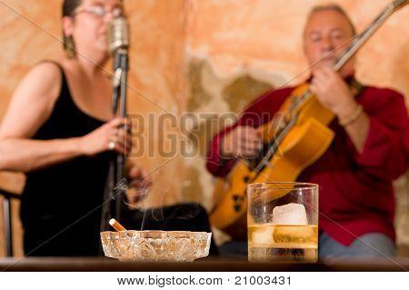 Jazz Club Atmosphere