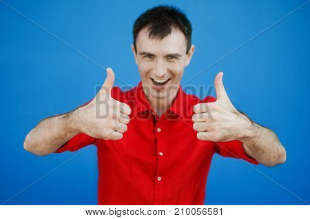 Portrait Thumbs Up