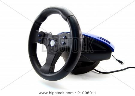 Race car sterring wheel for games