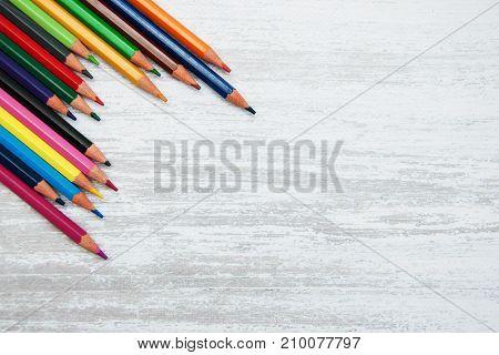 Colorful School Pencils