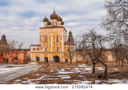 One of the oldest monasteries in Russia - Boris and Gleb Monastery of Rostov