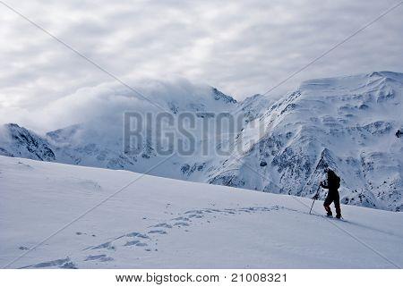 Winter Trekking In Fagaras