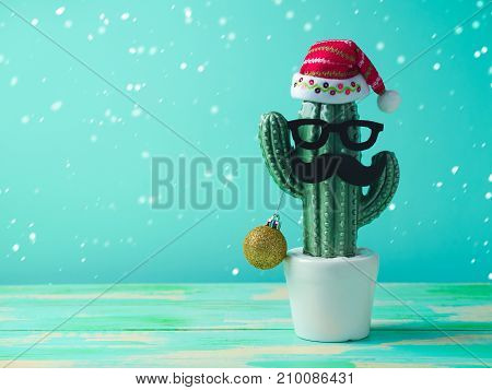 Christmas In Tropical Climate Concept