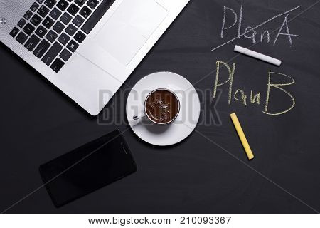 When the business stops - it's time to use plan B