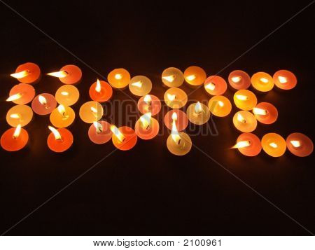 Hope With Candles