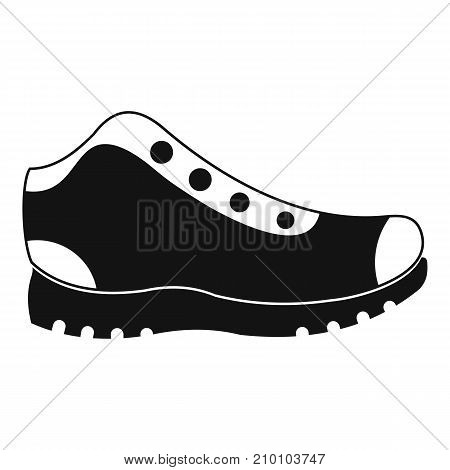 Hiking boots icon. Simple illustration of hiking boots vector icon for any web design