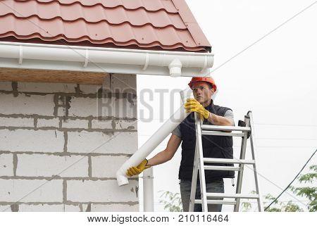 Installation Gutter System