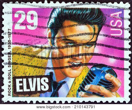 USA - CIRCA 1993: A stamp printed in USA from the