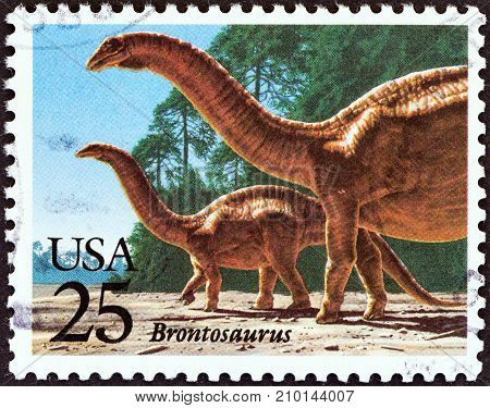 USA - CIRCA 1989: A stamp printed in USA from the