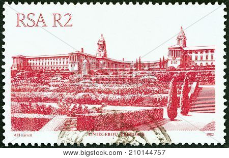 SOUTH AFRICA - CIRCA 1982: A stamp printed in South Africa from the