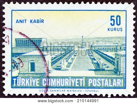TURKEY - CIRCA 1963: A stamp printed in Turkey from the