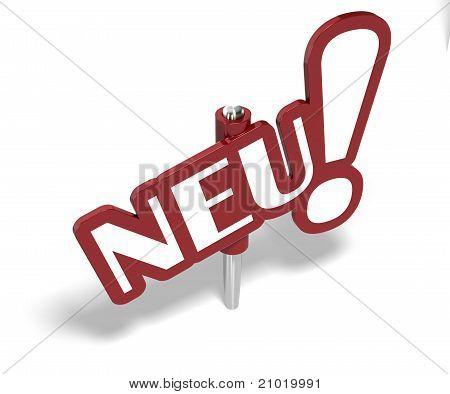 neu, new in german