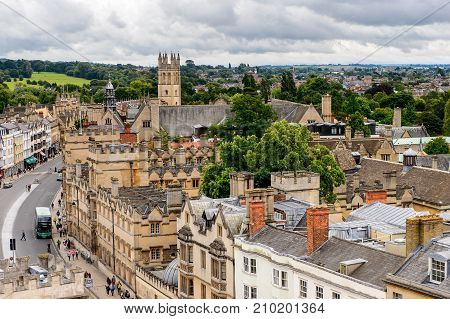 Architecture Of Oxford, England, United Kingdom