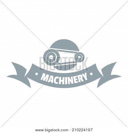 Control machinery logo. Simple illustration of control machinery vector logo for web