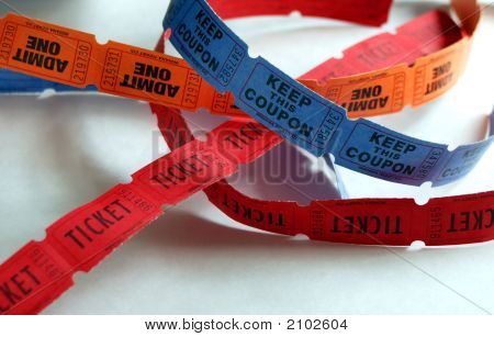 Pile Of Tickets