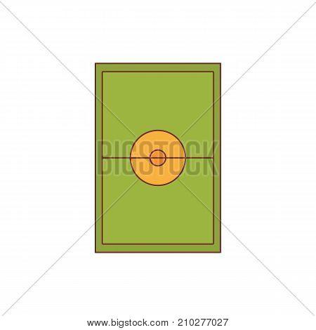 Stadium icon. Cartoon illustration of Stadium vector icon for web isolated on white background