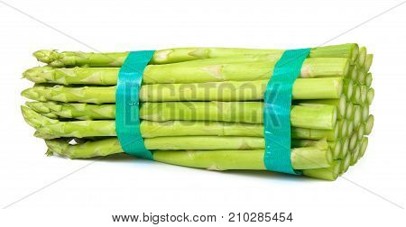 Asparagus Isolated On The White Background