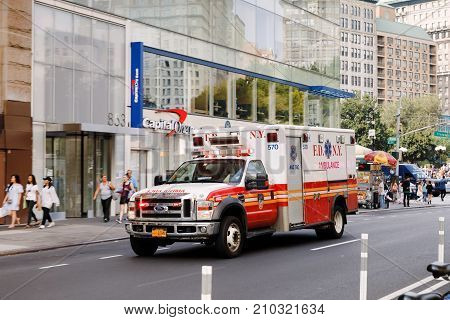 New York City Ambulance Car