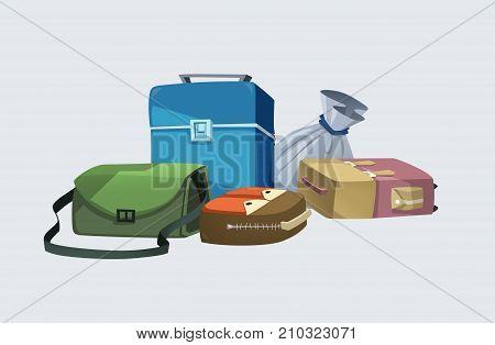 Luggage small bag big bag many styles