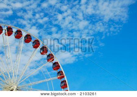 Quarter Of A Ferris Wheel