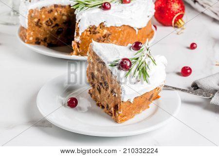 Christmas Fruit Cake Or Pudding