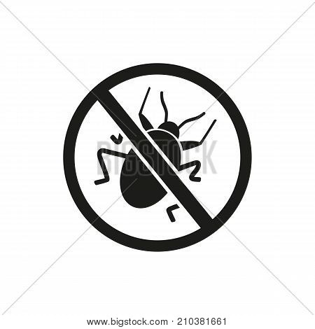 Icon of virus removing. Bug, protection, security. Device service concept. Can be used for topics like antivirus, repellent, technology