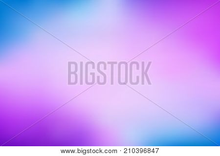 Abstract bright rainbow purple blue gradient simple modern satin texture vector background