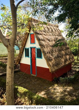 This is a traditional house in Madeira