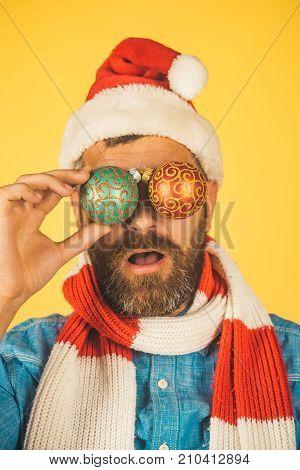 Christmas Spirit, Joy, Peace Concept