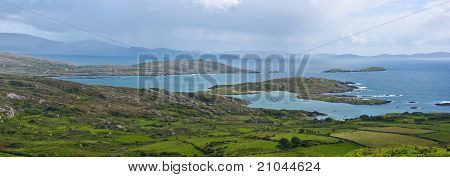 Derrynane Bay Panorama