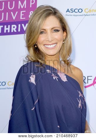 Shannon Miller arrives at the taping of
