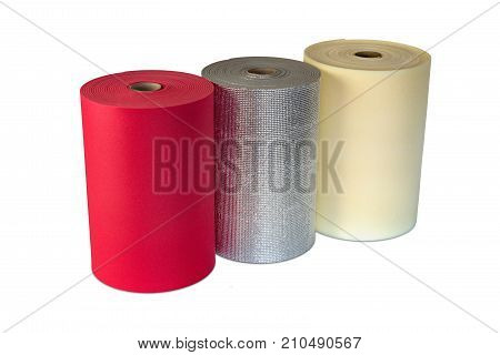 Polyethylene rolls foam multi colour product shockproof multi type