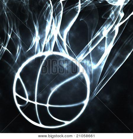 Basketball In The Smoke