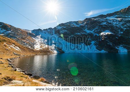 The Eye - The Deepest Of The Glacial Lakes, Rila Mountain, Bulgaria