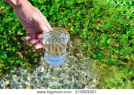 potable water from source & healthy water