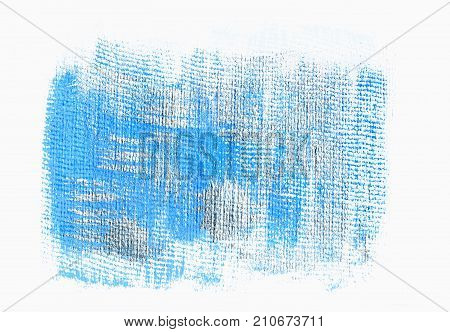 Blue silver grunge acrylic background. Element for different design