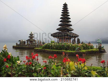The Temple Of Pura Ulun Danu Bratan